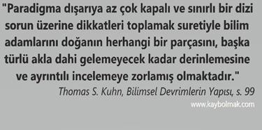 Thomas Kuhn- Bilimsel Devrimlerin Yapisi